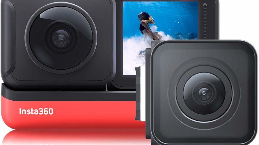 またまたすんげえカメラが出る! アクションカムはもう「360度」を買わないと意味が無い|Insta360 ONE R